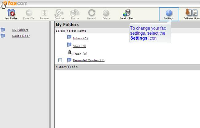 Fax-com User Experience