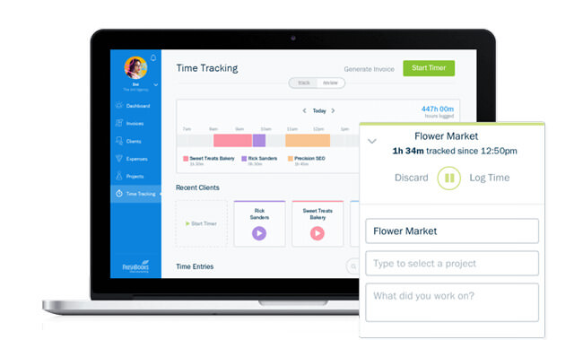 FreshBooks Time Tracking