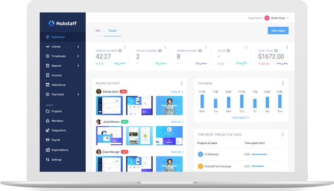 Hubstaff For Employees