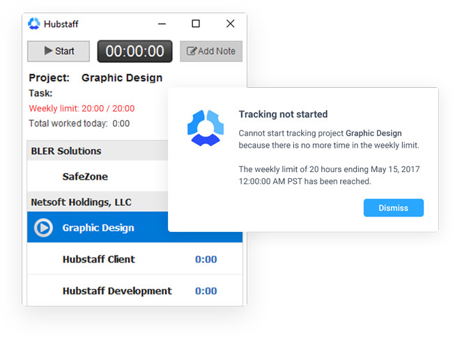 Hubstaff-User Experience