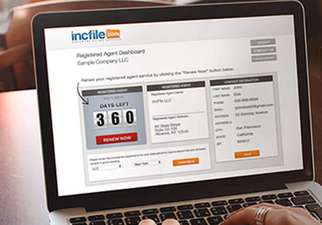 Incfile User Experience