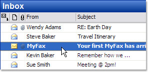 MyFax User Experience