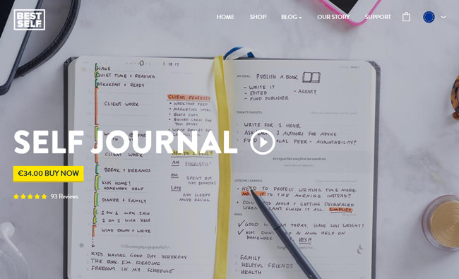 SELF Journal homepages