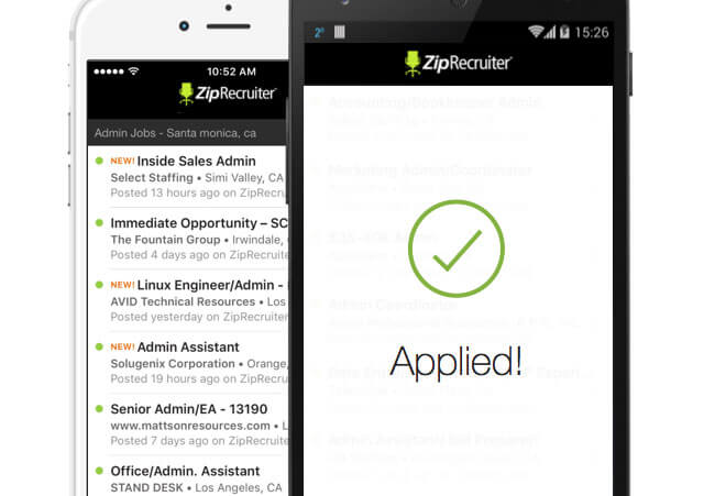ZipRecruiter mobile app