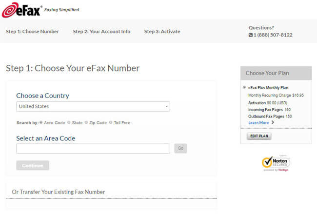 eFax Getting